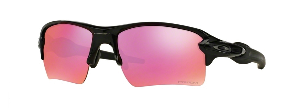 Oakley Flak 2.0 Polished Black Prizm Golf
