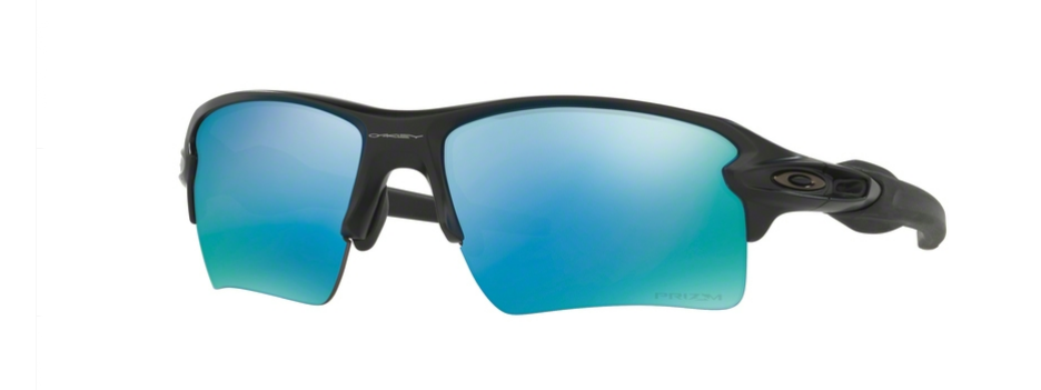 Oakley Flak 2.0 XL Matte Black Prizm Deep H20 Polarized