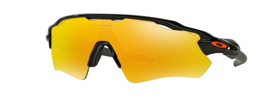Oakley Radar Ev Path Polished Black Fire Iridium
