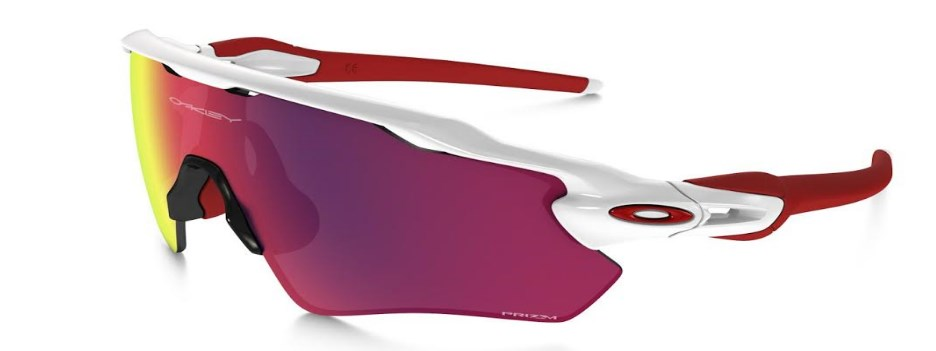Oakley Radar Ev Polished White Prizm Road